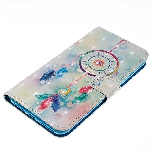 Cover iPhone 7 Plus,iPhone 8 Plus Coque,Portefeuille multi-parche Valenth Leather 3D Etui [Slots pour cartes] Coque Etui pour iPhone 8 Plus / iPhone 7 Plus 4#