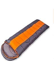XG Camping al aire libre de algodón hueco a prueba de viento 2000g plegable portátil 190 cm Sleeping Bag