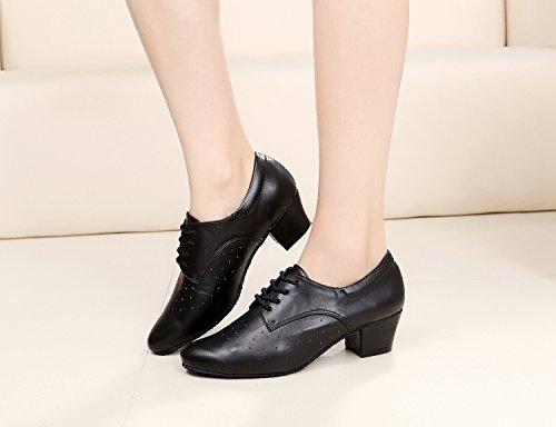 Minitoo - Ballroom donna Black-4cm Heel