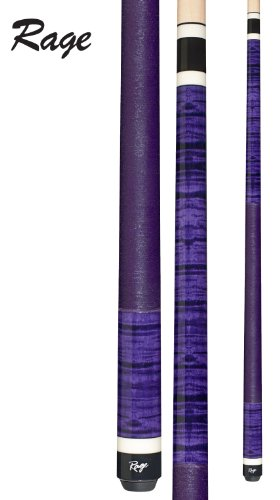 Unbekannt Rage rg-130Graphic ICY violett Gelockt Ahorn Queue, 18-Ounce