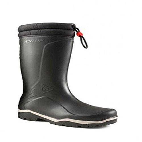 Dunlop Blizzard Warm Black Fleece Linned Padded Collar Wellington Boots - 41E9p0q8rlL - Dunlop Blizzard Warm Black Fleece Linned Padded Collar Wellington Boots