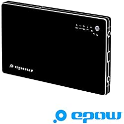 EPOW® Batterie Externe Ordinateur Portable 20000mAh, Compatible avec Macbook, ASUS, HP, Sony Chromebook, Lenovo, Acer, Batterie de Secours pour iPad, Téléphone Portable, Tablette Tactile