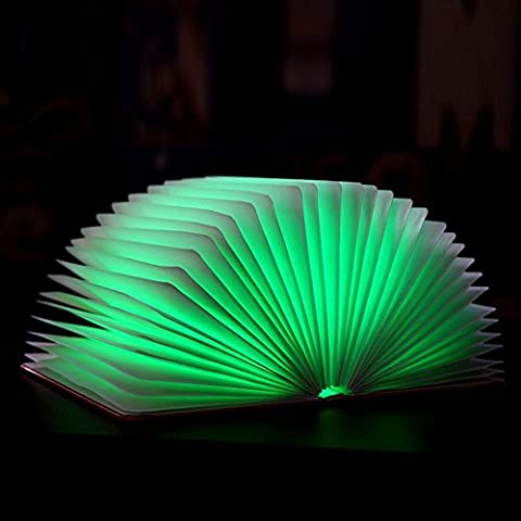 JUJUN LED 2W notte luce libro creativo