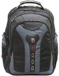 "Wenger 600639 PEGASUS 17"" MacBook Pro Backpack , Anti-scratch lining with iPad/Tablet / eReader Pocket in Blue {25 Litres}"