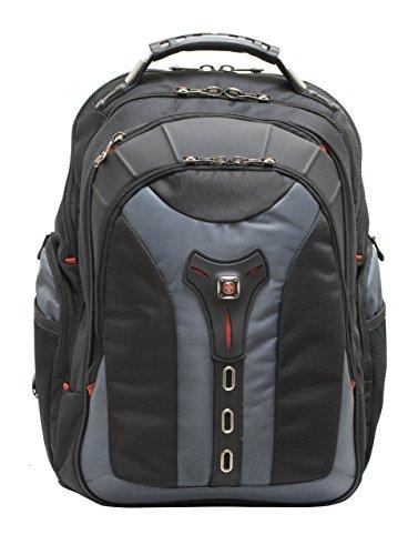 "Wenger 600639 PEGASUS 17"" MacBook Pro Rucksack, Anti-Scratch Futter mit iPad/Tablet / eReader Pocket in blau {25 Liter}"