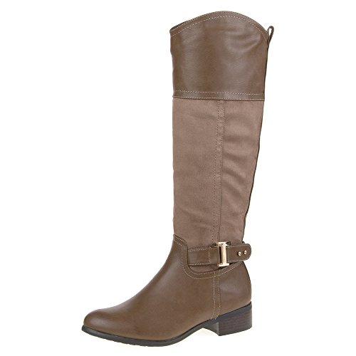 Damen STIEFEL Schuhe GEFÜTTERTE Langschaft BOOTS 36 37 38 39 40 41