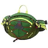 LXYIUN Bauchtasche Hüfttasche,Nylon Ripstop Pocket Gürteltasche Wasserabweisend Und Reißfest Outdoor Gurttasche Zum Wandern Reisen Urlaub,Green