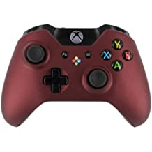 """""""Soft Touch Maroon"""" Xbox ONE Custom UN-MODDED Controller Exclusive Design"""