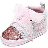 Zapatos de bebé, ASHOP Niña Niño Casuales Zapatillas del Otoño Invierno Suela Vendaje Lentejuelas Primeros