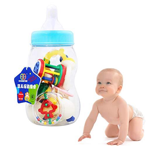 Mitlfuny Auto-Modell Plüsch Bildung Squishy Spielzeug aufblasbares Spielzeug im Freien Spielzeug,Rassel Beißring Baby Spielzeug Baby 10pcs Shake und Baby Hand Entwicklung Rassel Spielzeug
