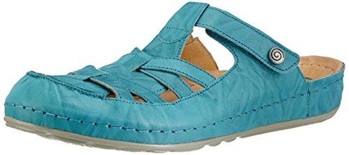 Dr. Brinkmann 700826 Damen Clogs Blau (Lagune)