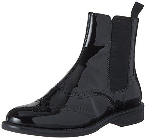 Vagabond Damen Amina Chelsea Boots, Schwarz (Black), 39 EU Patent Leder