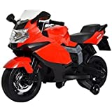 Pa Toys Ride On Bike Hand Accelerator And Paddle Brake 3-6 Years (Red)