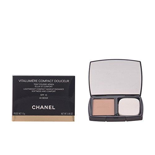 Unbekannt Chanel Vitalumiere Kompakt mild 40 - beige 13 g - Damen, 1er Pack (1 x 1 Stück)