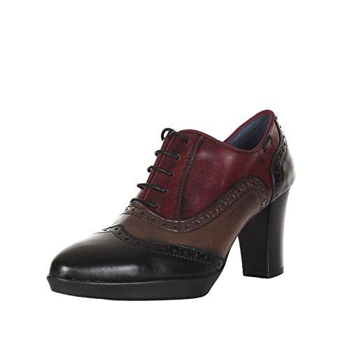 Callaghan 98732 galatia scarpe donna francesina derby con tacco multicolor n° 36