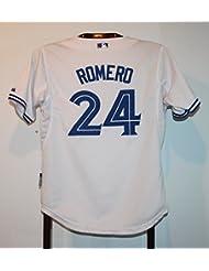 Maillot Trikot Jersey Mlb Baseball Toronto Blue Jays Ricky Romero XS