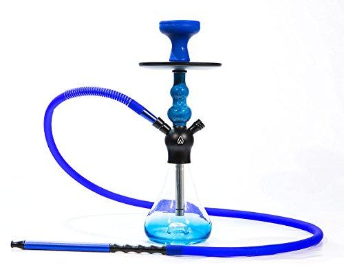 FumandoEspero Shisha - Cachimba Walden X2 40cm - Color: Azul