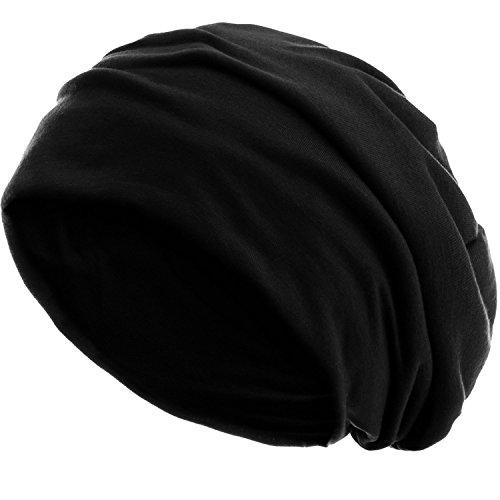 style3 Slouch Beanie aus atmungsaktivem, feinem und leichten Jersey Unisex Mütze...