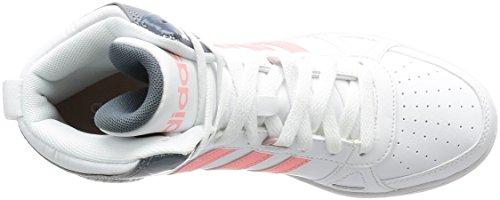 adidas Donna Hoops Team MID W scarpe sportive Bianco