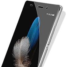 CoolReall - Protector de Pantalla de Cristal Templado para Huawei P8 Lite,transparente