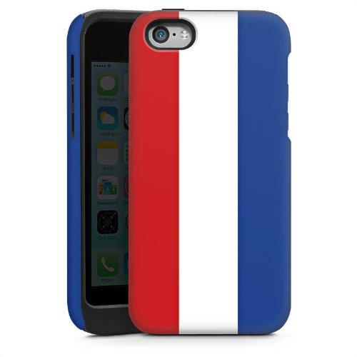 Apple iPhone 5s Housse Étui Protection Coque Pays-Bas Hollande Drapeau Cas Tough brillant