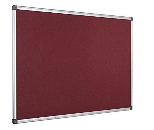 bi-office-pannello-in-feltro-maya-con-cornice-in-alluminio-superficie-di-feltro-liscia-bordeaux-90x6