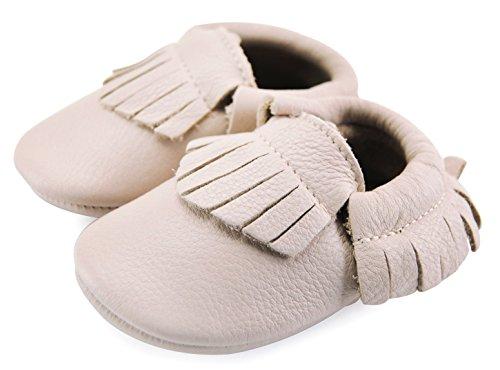 axy , Chaussures souple pour bébé (garçon) Blanc bleu 0-6 mois blanc