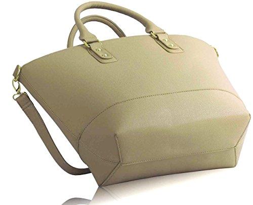 LeahWard® Damen Mode Essener Berühmtheit Tragetasche Modisch Schnell verkaufend Kreuzkörper Handtasche Mit langem Bügel CWS0085 CWS0085A CWS0085B CWRL150513 nackt