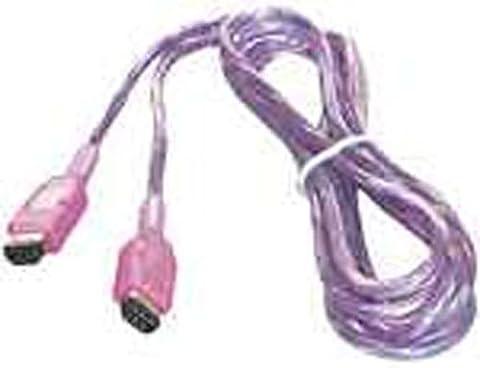 Game Boy - Linkkabel Color-Pocket lila/transp.