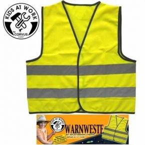 Corvus Corvus A600003 Warnweste Kids at Work, Größe XS