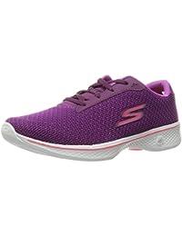 Skechers Go Walk 4-Glorify, Zapatillas para Mujer