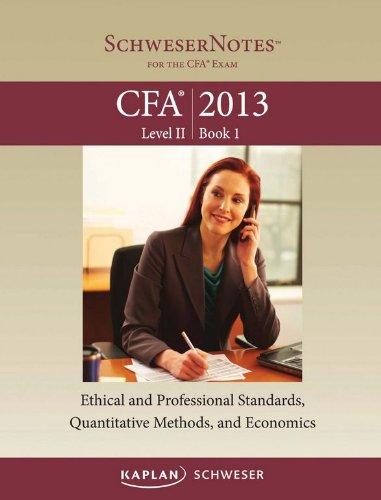 Schweser CFA Level II Study Notes 2013 1-5