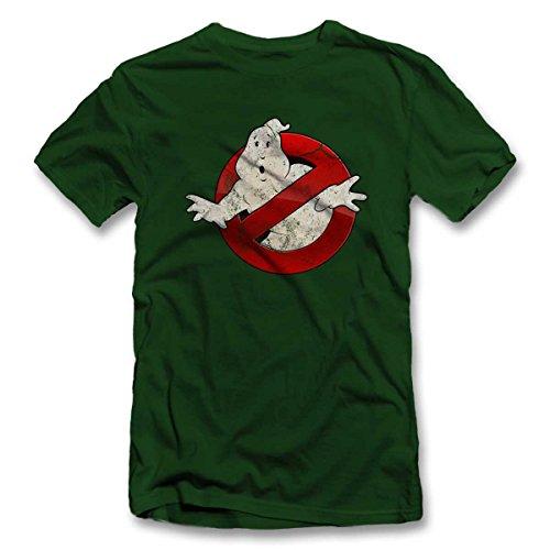 Ghostbusters Vintage T-Shirt dunkelgruen-dark-green L