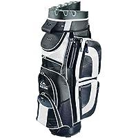 Longridge EZE Kaddy Pro - Bolsa para equipamiento de golf negro blanco y negro Talla:talla única
