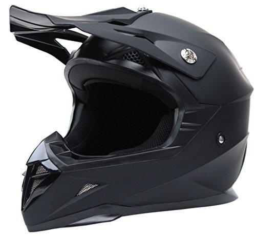 53 /– 62 cm MOTO HELMETS/® F19 Gloss Black /· Casco da moto /· Casco pieghevole modulare Flip-up integrale casco moto scooter Full Face Cruiser /· ECE visiera a sgancio rapido borsa XS XL