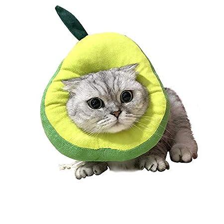 USAMS Schutzkragen für Katze, Katzen Halskrause Verstellbar Weich Soft Anti Biss Safty Kragen Wundheilung Wiederherstellung für kleine Haustiere