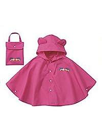 Mainaisi Poncho Impermeable Enfant Petites Oreilles Windproof et antipluie