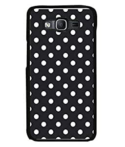 PrintVisa Designer Back Case Cover for Samsung Galaxy On5 Pro (2015) :: Samsung Galaxy On 5 Pro (2015) (Circles designed Background color is black)