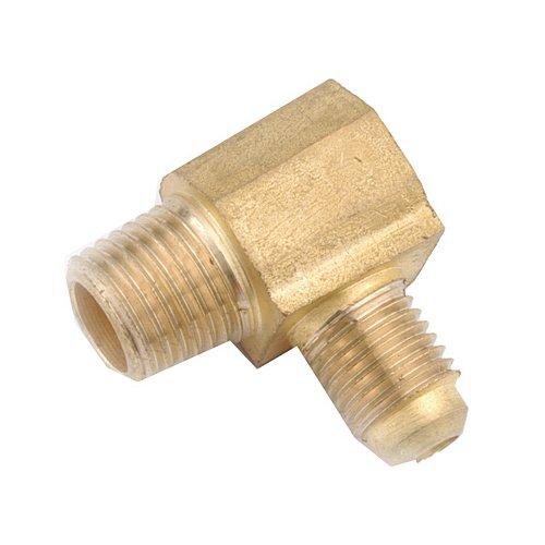 Anderson Metals Corp 714049–08061/2–Zoll Flare X 3/8–Zoll männlich Eisen Rohr Gewinde Ellenbogen (0806 Flare)