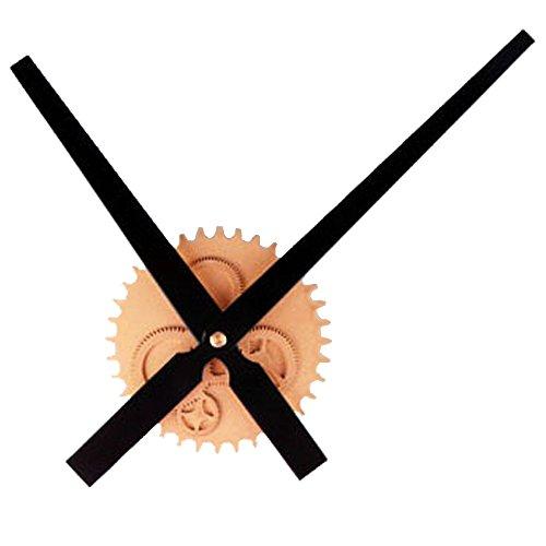 knowing Metall Quarz-Uhrwerk,DIY Uhr Hanging Bell, Zifferblatt Durchmesser 12cm, Gold