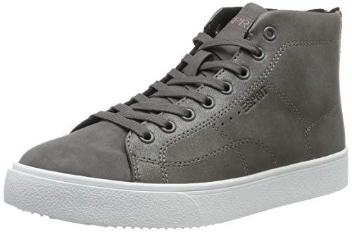 ESPRIT Damen Cherry Me.Booti Hohe Sneaker, Grau (Gunmetal 015), 39 EU