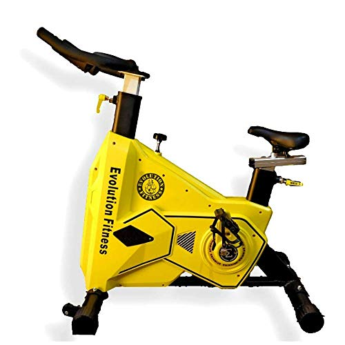 Evolution Fitness Commercial Gym/Home Spin Bike for Cardio Workout Exercise...