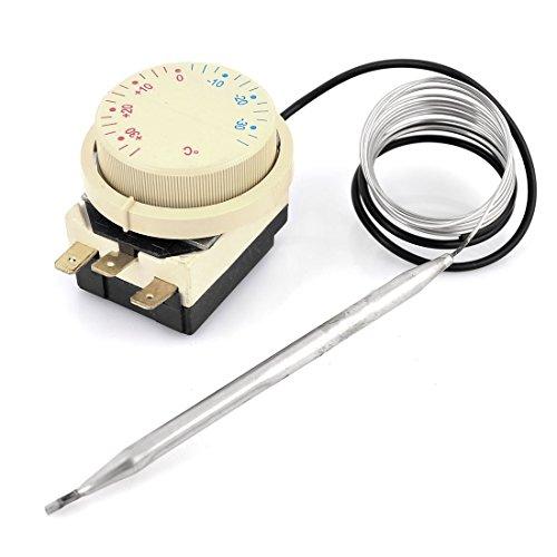 Preisvergleich Produktbild DealMux AC 250V 16A -30 bis 30 Grad Celsius 3 Pole Kühl-Gefrierkombination Thermostat