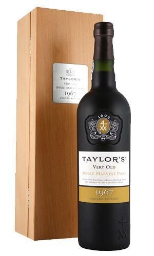 Taylor's Port Single Harvest Tinta Roriz 1967 trocken (1 x 0.75 l)