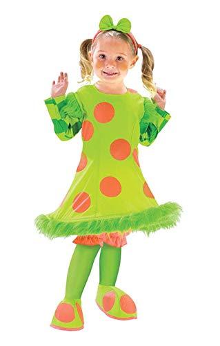 Horror-Shop Lolli der Clown Mädchenkostüm - Clown Lolli Kostüm
