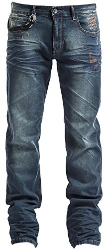Black Premium by EMP Pete (Straight Fit) Jeans blu W32L32