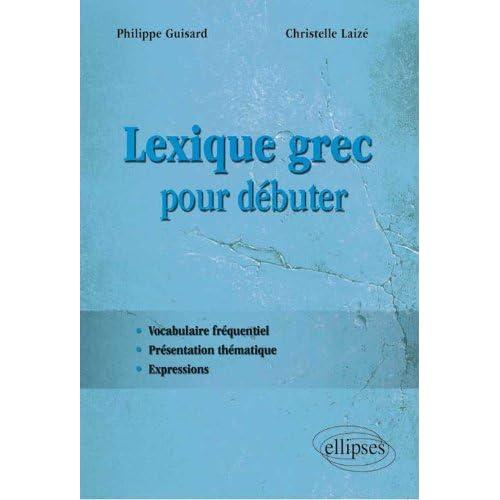 Lexique Grec pour Débuter