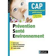 Prévention Santé Environnement - CAP Accompagnant Educatif Petite enfance