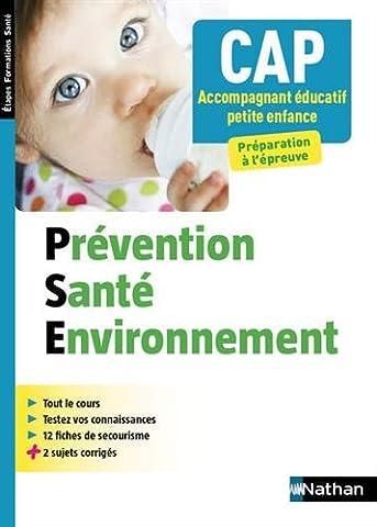 Prévention Santé Environnement - CAP Accompagnant Educatif Petite