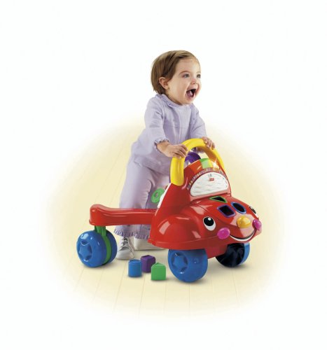 Image of Fisher-PriceFisher Price - Laugh & Learn Stride-to-Ride Learning Walker